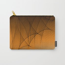 Gauze Pattern Carry-All Pouch