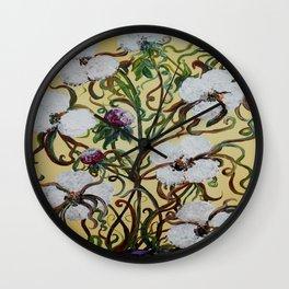 King Cotton Wall Clock