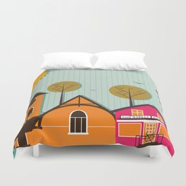 Brant Rock, MA Duvet Cover