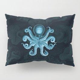 Octopus2 (Blue, Square) Pillow Sham