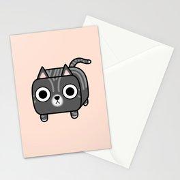 Cat Loaf - Grey Tabby Kitty Stationery Cards