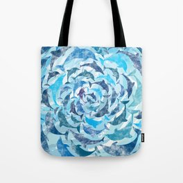 Water color dolphins Tote Bag