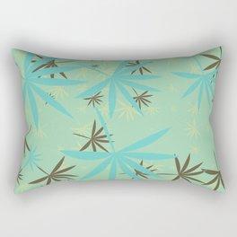 Leaves 6b Rectangular Pillow