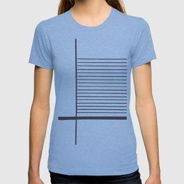Concrete Stripe Blue T-shirt