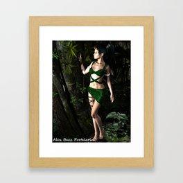 Forest Whisper Aisha Framed Art Print