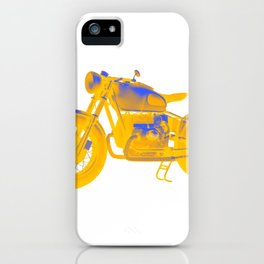 Motorcycle Racer iPhone Case