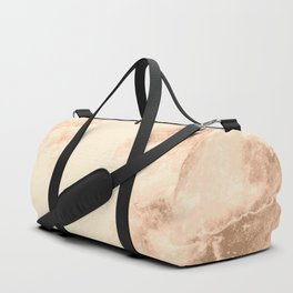 Bronze marble texture Duffle Bag