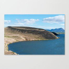 Iceland: Skutustadagigar pseudocraters Canvas Print
