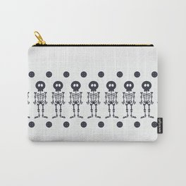 Pattern #8: Skeletons + Buttons Carry-All Pouch