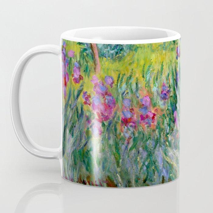"""Claude Monet """"The Iris Garden at Giverny"""", 1899-1900 Kaffeebecher"""