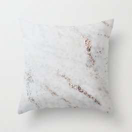 Glitter Marble Dream #1 #decor #art #society6 Throw Pillow