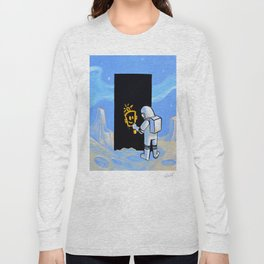 Happy In Space Long Sleeve T-shirt
