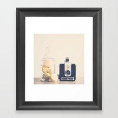 the creative act ...  Framed Art Print
