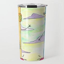 Alien Couple Travel Mug