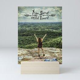 Free Spirit - Wild Heart Mini Art Print