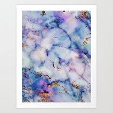 Marble Effect #6 Art Print