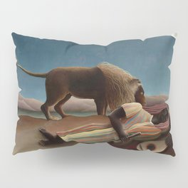 The Sleeping Gypsy by Henri Rousseau Pillow Sham