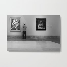 The Art Museum Metal Print
