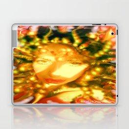 fire of the belly dancer ladykashmir Laptop & iPad Skin