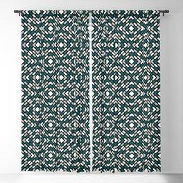 Benjamin Moore 2019 Metropolitan Gray, Beau Green 2054-20 and Snowfall White Diamond Grid Pattern Blackout Curtain