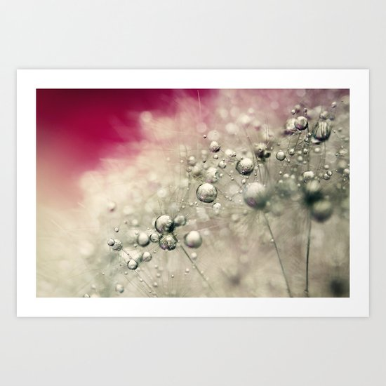 Cherry Dandy Drops Art Print