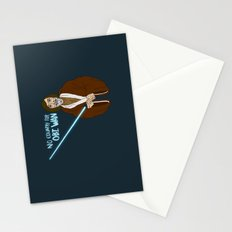 NO COUNTRY FOR OBI WAN Stationery Cards