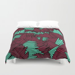 Happy Abstract Nr:02 Duvet Cover