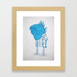 Guayaquil - Mr Iguana Framed Art Print
