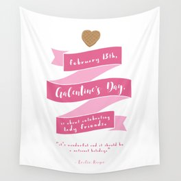 Galentine's Day Wall Tapestry