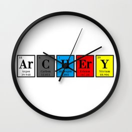 ArCHErY elements Wall Clock