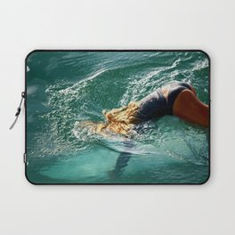 Sports Surfer Girl1 Surf City USA Laptop Sleeve