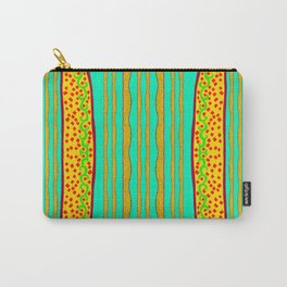 Diamonds And Plants Vertically Carry-All Pouch