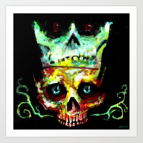 Another Year, Another Skull Art Print