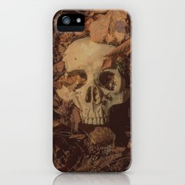 Catacomb Culture - Human Skull Forest iPhone Case