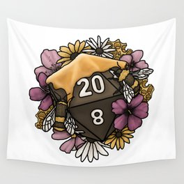 Honeycomb D20 Tabletop RPG Gaming Dice Wall Tapestry