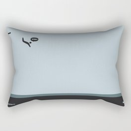 WTF? Pool Rectangular Pillow