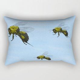 Flight of the Bumblebees Rectangular Pillow