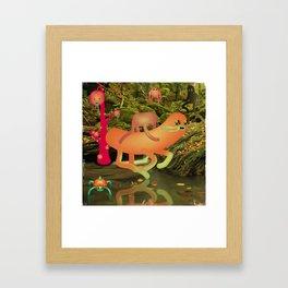 IppO Framed Art Print
