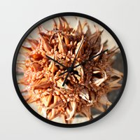 gumball Wall Clocks featuring Gumball Shadow by Images by Danielle