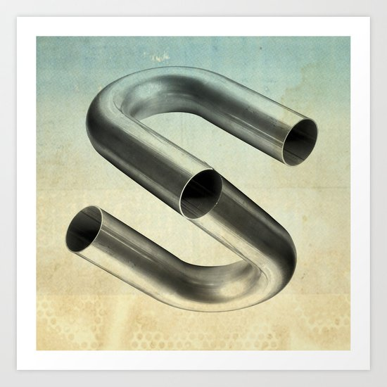 impossible tubes Art Print