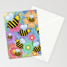 Busy Buzzers. Stationery Cards