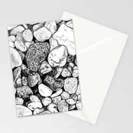 #inktober2016:rock Stationery Cards