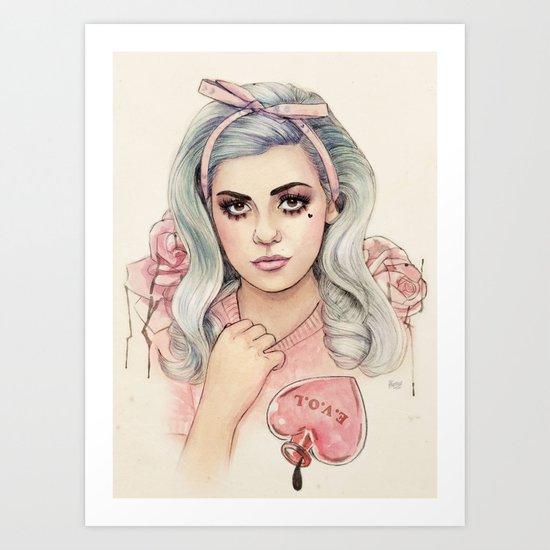 L.O.V.E | E.V.O.L Art Print