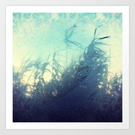 Steamy Window Art Print