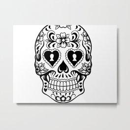 Sugar Skull Art, Sugar Skulls Metal Print
