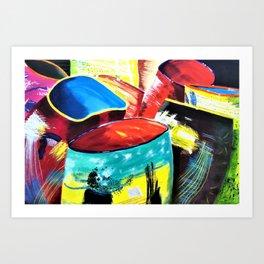 Life is a series of pots Art Print