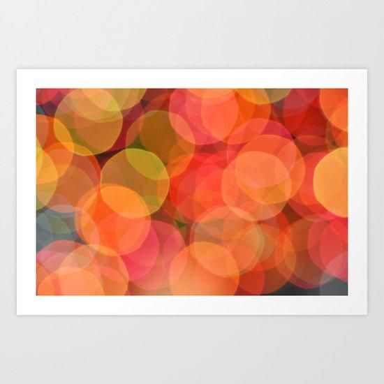 Bubble Blitz Art Print