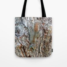 Find The Squirrel Tote Bag