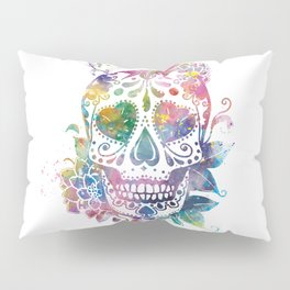 Sugar Skull Pillow Sham