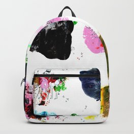 9 abstract rituals (2) Backpack